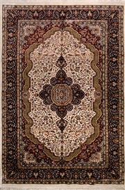 Sale 8447C - Lot 26 - Indian Silk & Wool 150cm x 230cm