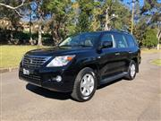 Sale 8620V - Lot 1 - Lexus LX570 Luxury 4WD Wagon                                                                            Year: 2008 ...