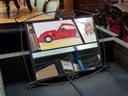 Sale 8657 - Lot 1035 - Metal Framed Mirror