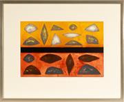 Sale 8770 - Lot 2 - John Coburn (1925-2006) - Annitowa Landscape, edition 18/25, SLR Coburn 99, 78cm x 96cm
