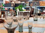 Sale 8908 - Lot 1070 - Collection Of Holmegaard Glassware inc Dessert Dish, Tumblers, Shot Glass and Decanter (25 pieces)