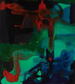 Sale 9221JM - Lot 5091 - DALE FRANK (1959 - ) Untitled decorative print after original 54.5 x 49.5 cm (frame: 84 x 79 x 3 cm) .