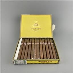 Sale 9250W - Lot 709 - Montecristo Puritos Cuban Cigars - box of 25 cigars
