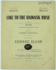 Sale 8314 - Lot 36 - Dame Joan Sutherland Autographed Sheet Music by Edward Elgar