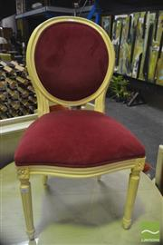 Sale 8341 - Lot 1069 - Painted Balloonback Chair