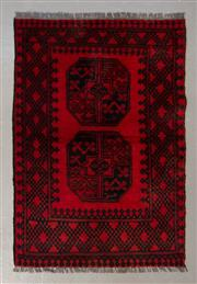 Sale 8493C - Lot 6 - Afghan Turkman 130cm x 70cm