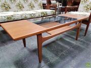 Sale 8566 - Lot 1004 - G-Plan Fresco Teak Coffee Table (43 x 51 x 137)