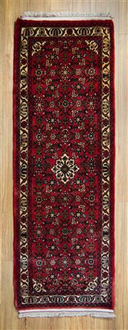 Sale 8566C - Lot 66 - Persian Husinabad Runner 208cm x 70cm