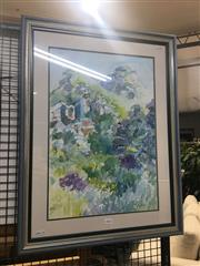Sale 8707 - Lot 2034 - Artist Unknown - Rockcliff & Bush Study watercolour, 55 x 72cm, unsigned