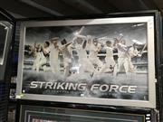 Sale 8888 - Lot 2091 - Australian Cricket Heroes Framed Poster