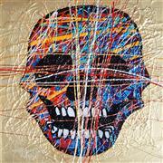 Sale 9009A - Lot 5041 - Constantine Popov (1965 - ) - Skull 50 x 50 cm (frame: 69 x 69 x 5cm)