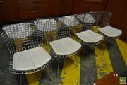 Sale 8528 - Lot 1079 - Set of 8 Bertrois Chairs