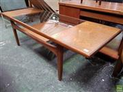 Sale 8566 - Lot 1064 - G-Plan Fresco Teak Coffee Table (43 x 50.5 x 137)