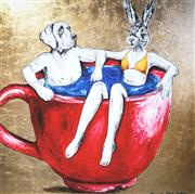 Sale 9034A - Lot 5069 - Gillie and Marc - Teacup Fun 51 x 51 cm (frame: 83 x 83 x 4 cm)