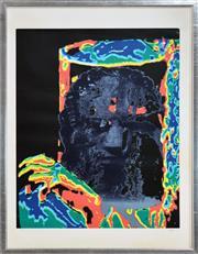 Sale 8325 - Lot 576 - Sidney Nolan (1917 - 1992) - Kelly 83 x 60.5cm