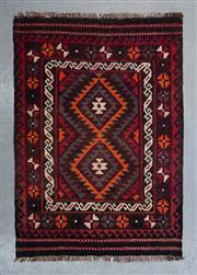 Sale 8480C - Lot 58 - Afghan Kilim 120cm x 100cm