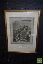 Sale 8506 - Lot 2063 - 1813 Dated Copper Plate Engraving