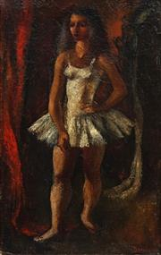 Sale 8692 - Lot 586 - Alice Danciger (1914 - 1991) - Ballerina, c1958 35.5 x 54cm
