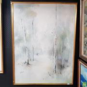 Sale 8640 - Lot 2055 - Elizabeth Moore - Twilight, 106.5 x 82cm