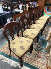 Sale 8868 - Lot 1512 - Set of 6 Mahogany Chairs