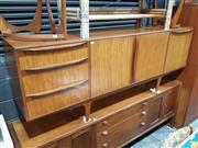 Sale 8930 - Lot 1073 - Quality MacIntosh Tigerwood Sideboard