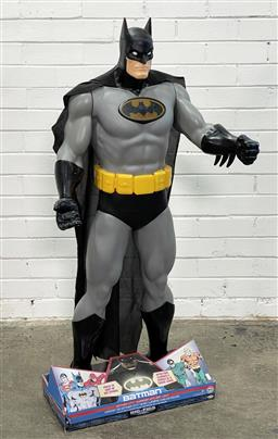 Sale 9146 - Lot 1080 - Life-size light-up Batman figure (h123cm) (presented in unopened box) -