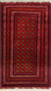 Sale 8321C - Lot 21 - Afghan Bukhara 150cm x 90cm RRP $800