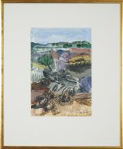 Sale 8506 - Lot 2004 - Ian Holt - Broken Banksia 30.5 x 20.5cm