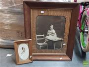 Sale 8552 - Lot 2070 - 2 Framed Photos