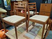 Sale 8661 - Lot 1066 - G-Plan Set of Six Chairs