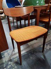 Sale 8801 - Lot 1098 - Very good set of 6 Koford Larison Danish Teak Dining Charis