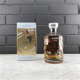 Sale 9089W - Lot 24 - Hibiki Japanese Harmony Blended Japanese Whisky - 30th anniversary limited edition design, 43% ABV, 750ml in box