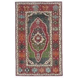 Sale 9124C - Lot 38 - India Revival Vintage Rug, 150x240cm, Handspun Wool