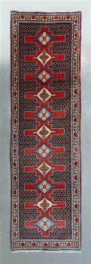 Sale 8472C - Lot 32 - Persian Sanandaj  330cm x 100cm