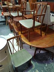 Sale 8661 - Lot 1097 - G-Plan Set of Six Chairs