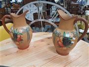 Sale 8676 - Lot 1351 - Pair of Italian Jugs