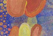 Sale 8696 - Lot 521 - Patju Presley (c1940s - ) - Wati Kutjara, 2006 139 x 204cm (stretched and ready to hang)