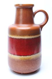 Sale 8725 - Lot 8 - Large West German Latt Jug/vase (H:41cm)