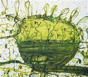 Sale 9034A - Lot 5038 - John Olsen (1928 - ) - Lily Pond 80 x 93 cm (110 x 121 x 4 cm)