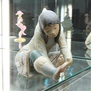Sale 8304 - Lot 4 - Lladro Eskimo Girl