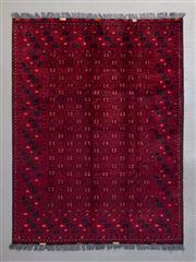 Sale 8493C - Lot 9 - Afghan Qunduzi 192cm x 150cm