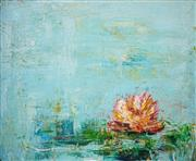 Sale 8504 - Lot 576 - Mark Davis (1955 - ) - Lily in Full Bloom, 2009 80.5 x 100cm