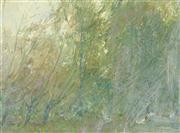 Sale 8549 - Lot 596 - Glen Preece (1957 - ) - Tree - Afternoon, Bowral 19 x 26cm