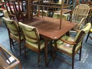 Sale 8643 - Lot 1050 - McIntosh Table and Set of 6 Chairs
