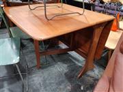Sale 8723 - Lot 1082 - G Plan Teak Drop Leaf Table