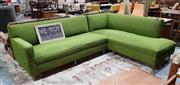 Sale 8930 - Lot 1063 - Art Deco 2 Piece L-Shaped Settee by Gerstl