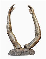 Sale 9015J - Lot 18 - Guy Boyd - Dancers Arms Height 58cm