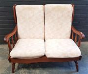 Sale 9026 - Lot 1084A - Timber 2 Seater Lounge