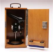 Sale 9070 - Lot 90 - A Cased Carl Zeiss Microscope