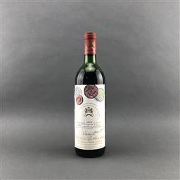 Sale 9120 - Lot 1022 - 1978 Chateau Mouton-Rothschild, 1er Cru Classe, Pauillac - mid shoulder